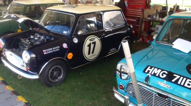Classic Mini + Jason Plato – only at Goodwood